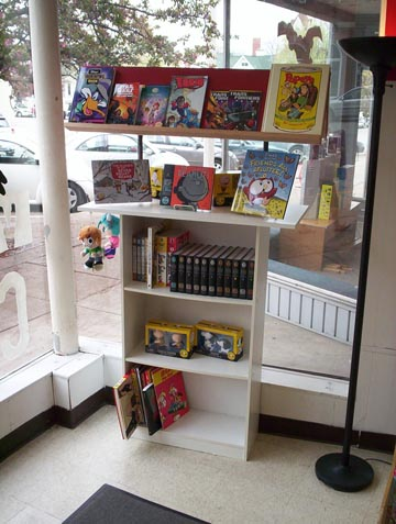 Featured children's collections.