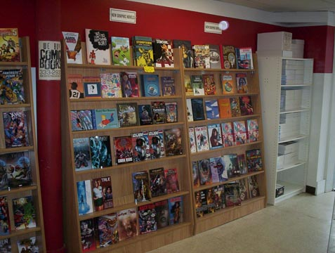 New (graphic novel) collections.